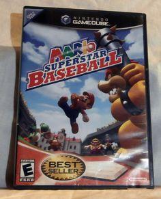 GOING SOON ON EBAY! Mario Superstar Baseball  (Nintendo GameCube, 2005)