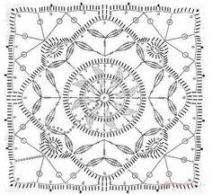 kwadrat w stylu reticello