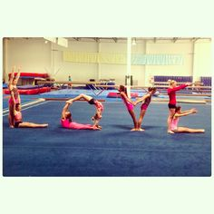LOVE for valentine's day Gymnasts/Love/Pink
