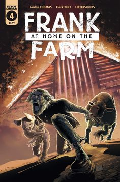 """""""This is a haunting, tragic story that will shake you to your core. In short, you need to read this."""" James reviews Frank at Home on the Farm #4 from Scout Comics."""