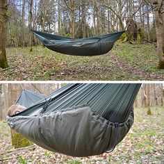 How To Set Up A Camping Hammock - DD Underblanket suitable for use in temperatures down to -5C.