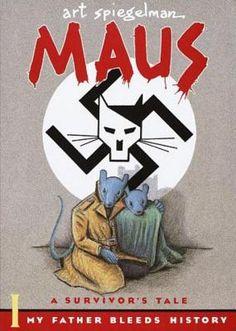 Maus I: A Survivors Tale: My Father Bleeds History by Art Spiegelman #paperback
