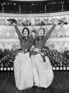 Carol Burnett and Julie Andrews