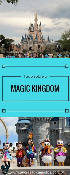 Veja tudo o que você precisa saber sobre o parque mais famoso do mundo, o Magic Kingdom.