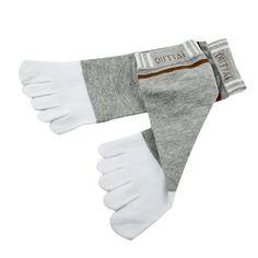 Wiggle Socks 1 Pair new Good Elasticity summer style Socks Combed Cotton Meias Sports Five Finger Short Socks Toe Socks