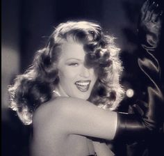 "Rita Hayworth - Putting ""The Blame On Mame""                                                                                                                                                      More"