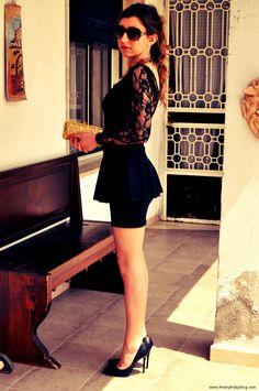 Black lace dress http://bit.ly/J7LL5W