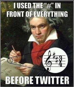 :D i love musical humor XD Band Nerd, Humor Musical, Choir Humor, What Meme, Social Media Humor, Music Jokes, Funny Music, Partition, Humor Grafico