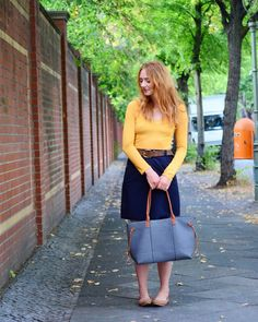 Almost Stylish: Warm Colours for Late Summer