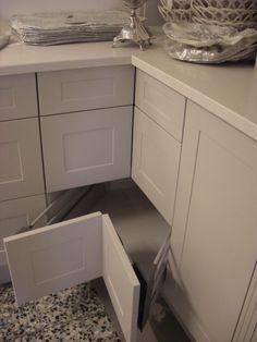 Smart løsning for skuffeplass på kjøkkenet