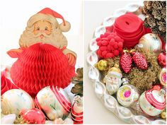 Honeycomb Santa