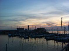 la lanterna al tramonto #trieste