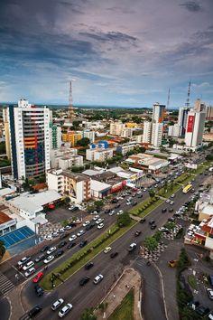 Vista aérea de Cuiabá - Foto