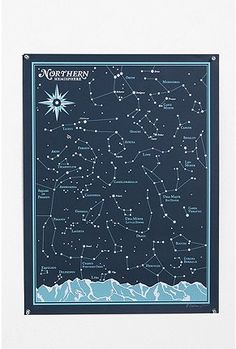 We have lots of space/astronomy themed charts and pictures in our bathroom! Looks cool with glow stars on ceiling.