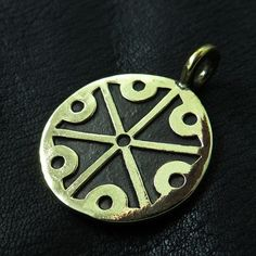 Bronze Perun pendant from The Sunken City by DaWanda.com