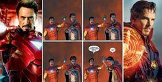 Homem de Ferro pode fazer participação especial em 'Doutor Estranho'