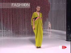 "Fashion Show ""Kenzo"" Autumn Winter 2008 2009 Paris 3 of 3 by Fashion Channel - YouTube"