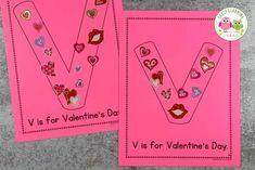 alphabet activities - ideas for letter v Preschool Letter Sound Activities, Educational Toys For Preschoolers, Preschool Colors, Letter Activities, Preschool Learning Activities, Alphabet Crafts, Letter A Crafts, Early Learning, Instructional Technology