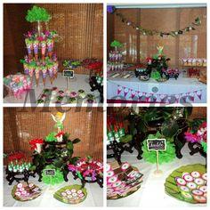 Mesa de dulces Hadas ! Fairy party candy bar !