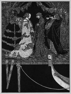 Illustration for The Assignation by Edgar Allan Poe
