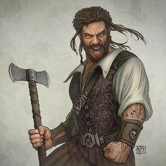 Badass Illustrations by Kerem Beyit Pirates Age