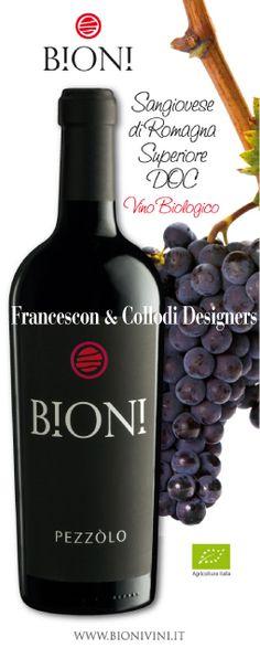 #Sangiovese #Riserva #bottle of #Agritourism Ca' di Rico - #label #design by #Francescon & #Collodi #etichette_vino