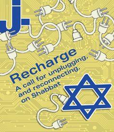 unplugging  for shabbat