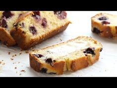 Blueberry Lemon Bread - loaded with juicy lemon and blueberries. SO YUMMY with the perfect thick, soft texture! Best paired with a spread of butter. Lemon Bread, Blueberry Bread, Biscuit Recipe, Blue Berry Muffins, Summer Desserts, Easter Recipes, Baked Goods, Cake Recipes, Sweet Treats
