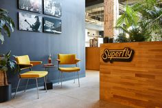 SUPERFLY — FLOAT Office Interior Design, Office Interiors, Collaborative Space, Workplace Design, Superfly, Design Projects, Studio, Table, Furniture