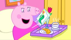 It is Mummy Pig's birthday. Peppa, George and Daddy Pig are just as excited as Mummy. They have lots of fun preparing secret, birthday surprises for her. Peppa Pig Teddy, Animation, Youtube, Cartoon Kids, Film, Own Home, Pikachu, Anime, Family Guy