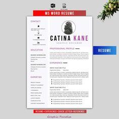 Resume Template Modern Resume Professional Resume | Etsy