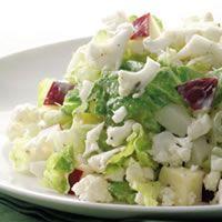 Creamy Chopped Cauliflower Salad Recipe - EverydayHealth.com