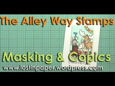 Video : Enjoy the Fuss at The Alley Way Stamps! | Lostinpaper