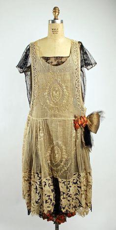 Boué Soeurs (French) Dress, Evening 1920–25 Met