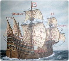 Portuguese Empire, Arabian Knights, Old Sailing Ships, Ship Paintings, Wooden Ship, Nautical Art, Knights Templar, Tall Ships, Model Ships