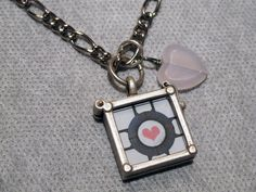 Companion Cube Necklace #jewelry #geek #shirocosmetics $15.00