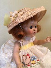 Vintage Vogue PLW Ginny Doll, Candy Dandy Chicken Dress, 1954