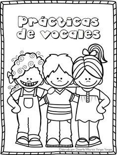 Práctica de vocales ~ Educación Preescolar