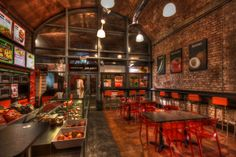Cafe interior HDR (Leeds)  by Mr. Shultz