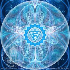 7 Chakra Fractals - Sacred Light Visions - The Art of Kim Dreyer Vishuddha Chakra, Sacral Chakra, Throat Chakra, Chakra Healing, 7 Chakras, Love Chakra, Plexus Products, Pure Products, Divine Proportion