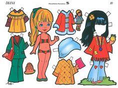 Bonecas de Papel - Rosa Freitas - Picasa Webalbum