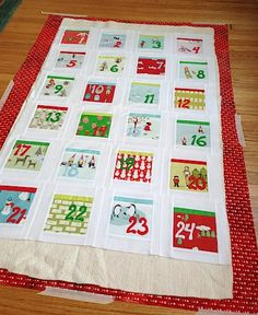 Countdown to Christmas Quilt-Along: Quilting