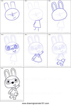 How to Draw Hopkins from Animal Crossing step by step printable drawing sheet to print. Learn How to Draw Hopkins from Animal Crossing Drawing For Beginners, Beginner Drawing, Animal Crossing Fan Art, Drawing Sheet, Animal Games, Sculpture, Step By Step Drawing, Character Drawing, Learn To Draw
