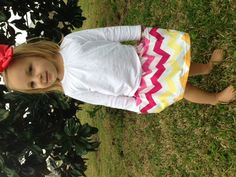 sunny chevron pocket skirt $24 by: small habit https://www.facebook.com/smallhabit