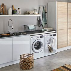 Laundry Room Design, Ikea Kitchen, Mudroom, Future House, Home Appliances, House Design, Interior Design, Basement, Organize