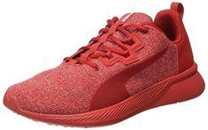 eefc3c698806 Puma Unisex Ribbon Red White Running Shoes-8 UK India (42 EU)