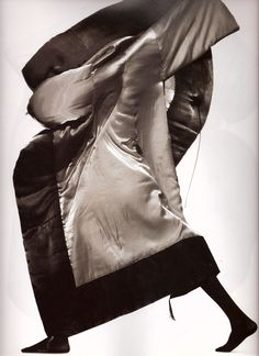 TYEN, ISSEY MIYAKE AW95: make-up artist and photographer of the eighties, nineties, and forever. one-name legend.