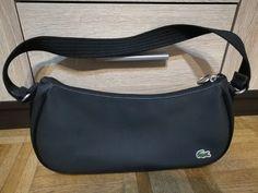 Sprzedam czarną sportową torebkę firmy Lacoste. Wymiary: długość ok. 32 cm, wysokość ok. 16 cm, głębokość ok. 7 cm, długość paska ok. 55 cm. Lacoste, Fanny Pack, Safari, Disney, Bags, Fashion, Hip Bag, Handbags, Moda