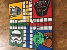 Star Wars Hama Bügelperlen Brettspiel Mensch ärgere dich nicht