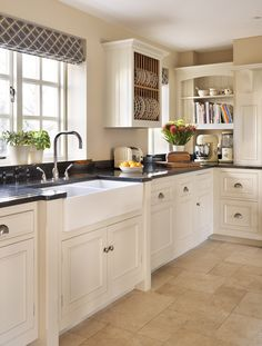 consider extended cabinet area at sink so it is framed out a bit Harvey Jones Original kitchen
